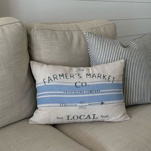Farmhouse Accent Pillow